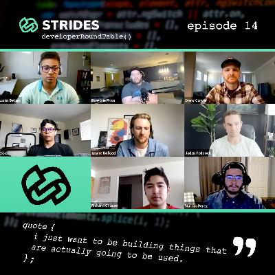 The Process of Actually Developing an App — a Roundtable Discussion (Strides Development)