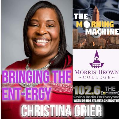 The Morning Machine w/Christina Grier 10-6-2020