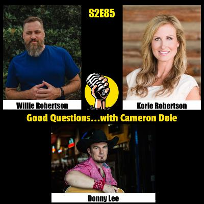 S2E85 - Willie and Korie Robertson, and Donny Lee
