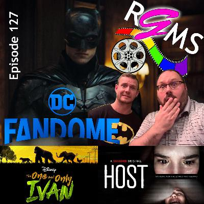 RGMS EP 127: DC Fandome / The One and Only Ivan / Host