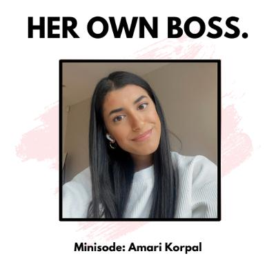 Minisode: How to cope with graduate uncertainty with Amari Korpal