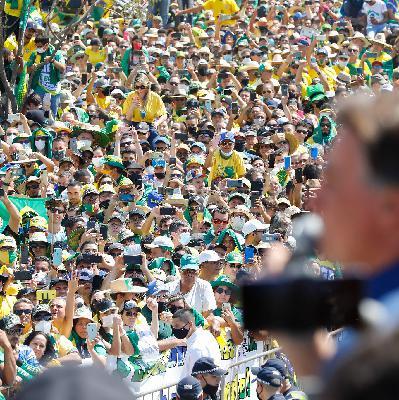 Em dia de manifestações pelo país, Bolsonaro faz ameaças golpistas e ataca Alexandre de Moraes