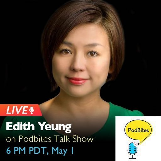 #live Podbites interview with Edith Yeung