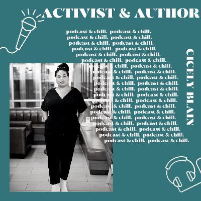 Cicely Blain - activist & author