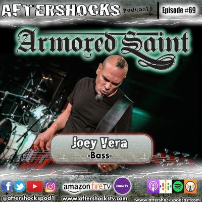 Aftershocks - Armored Saint Bassist Joey Vera