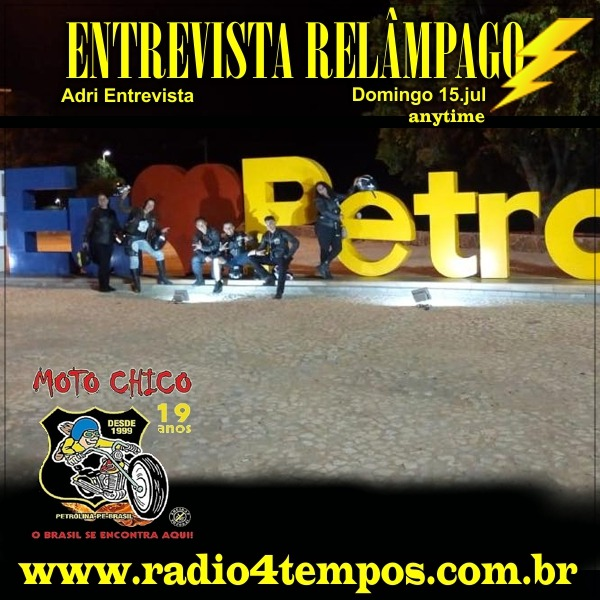 Rádio 4 Tempos - Entrevista Relâmpago 36