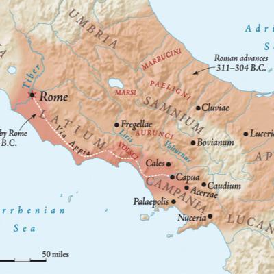 012- Birinci Samnit Savaşı