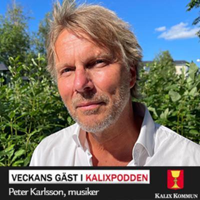 Peter Karlsson, professionell musiker och Kalixambassadör
