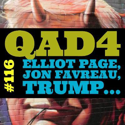 #116 - Elliot Page, Jon Favreau, Trump...