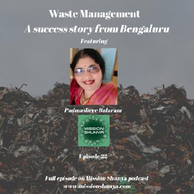 22: Waste Management - A success story from Bengaluru