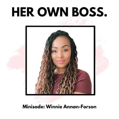 Minisode: How to nail your new job with Winnie Annan-Forson