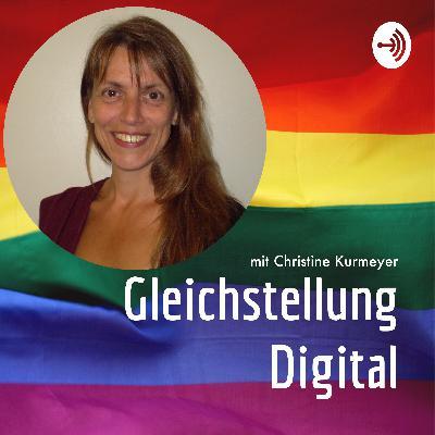 """#1 """"Digitale Gleichstellung im Gesundheitswesen """" mit Doktorin Christine Kurmeyer, der zentralen Frauen- und Gleichstellungsbeauftragten der Charité Berlin"""