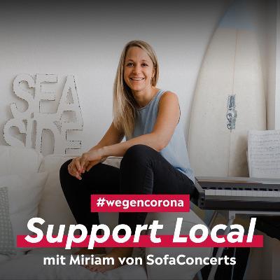Support Local: SofaConcerts erfindet sich neu mit Videobotschaften #wegencorona