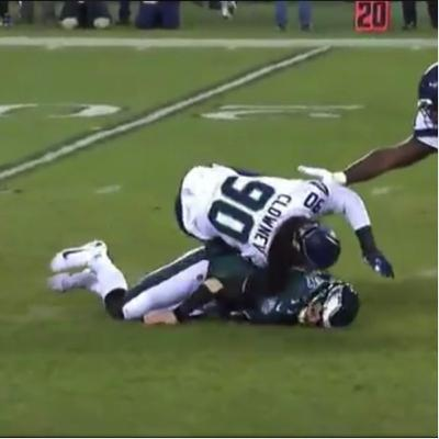 Ep 43...Eagles fall to the Seahawks on Wildcard Weekend