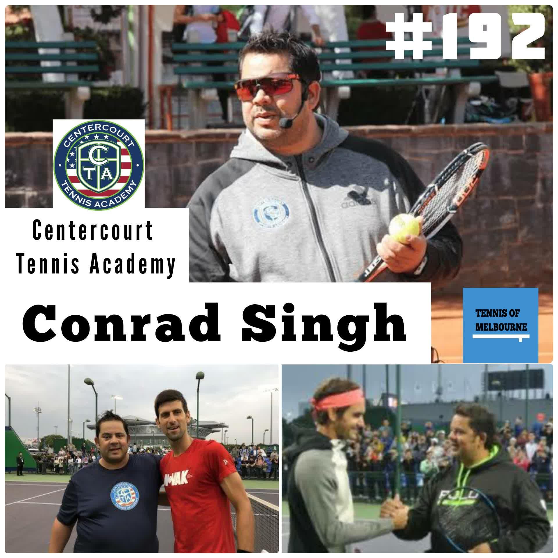 #192 Conrad Singh | Centercourt Tennis Academy
