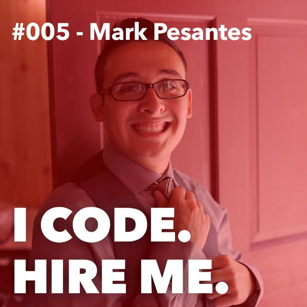 #005 - Why Mark Pesantes Quit Apple to Learn How To Code
