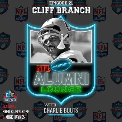 Cliff Branch Tribute (Raiders Legend)