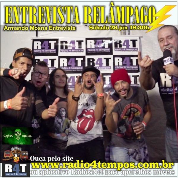 Rádio 4 Tempos - Entrevista Relâmpago 42