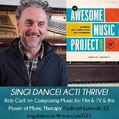 Rob Carli on Composing Music for Film & TV & the Power of Music Therapy