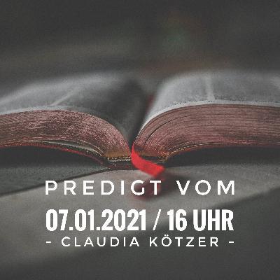 CLAUDIA KÖTZER - Erfülltes Leben in der beständigen Gegenwart Gottes / 16 Uhr