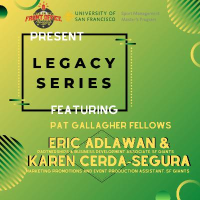 San Francisco Giants Duo of Pat Gallagher Fellows, USF Legacy Series