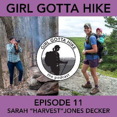"""11. Sarah """"Harvest"""" Jones Decker, Photographer, AT Hiker & Author of """"The Appalachian Trail: Backcountry Shelters, Lean-Tos, and Huts"""