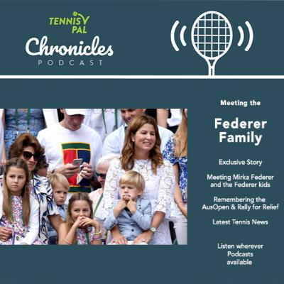 Meeting Roger Federer's Family Mirka and the Fedkid twins + tennis news on Djokovic Serena Nadal & ATP WTA Tournaments!