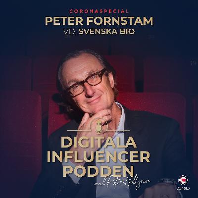 Biograferna under Coronakrisen och hur digitaliseringen påverkar bioupplevelsen| Peter Fornstam, vd Svenska Bio (Coronaspecial)