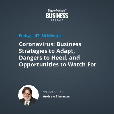 47: Coronavirus: Business Strategies to Adapt, Dangers to Heed, and Opportunities to Watch for With Andrew Sherman