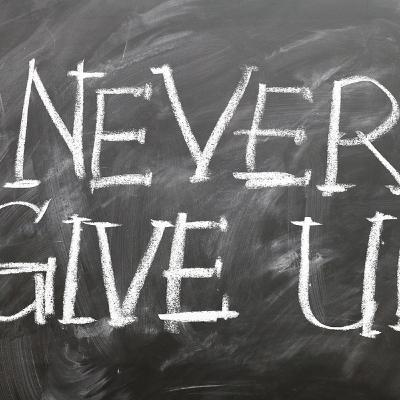 Defeat -Never Give Up