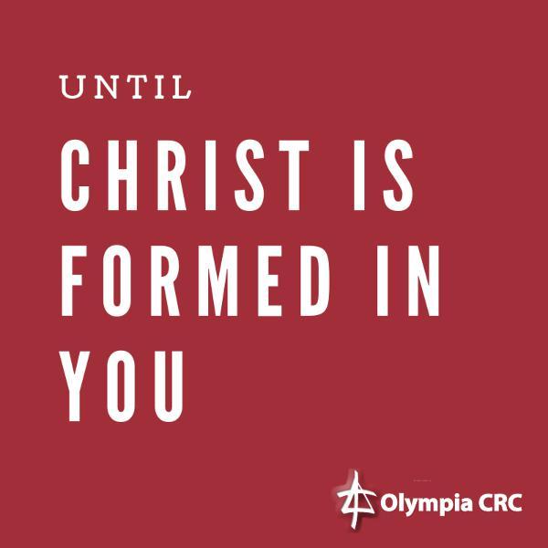 Until Christ Is Formed In You (2): Hospitality - Pastor Mark Van Haitsma