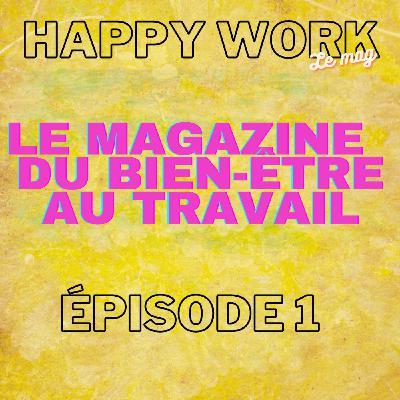 #263-Happy Work, l'hebdo en vidéo sur YouTube- épisode 1