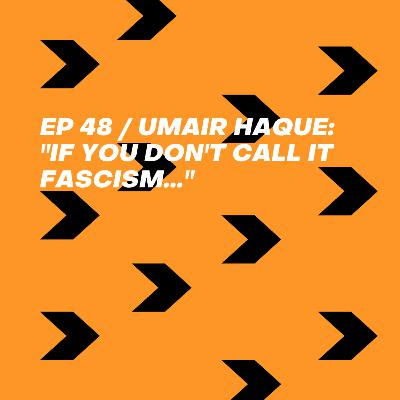 "Umair Haque: ""If you don't call it fascism..."""