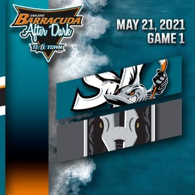 Game 1 - San Jose Barracuda @ Henderson Silver Knights - 5-21-2021 - Barracuda After Dark (Postgame)