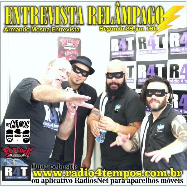 Rádio 4 Tempos - Entrevista Relâmpago 70