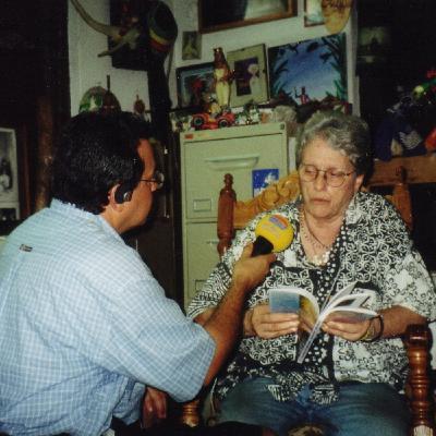 Programa Voces: Entrevista a Natalia Bolívar - Por Juan Carlos Roque (Octubre de 2000)