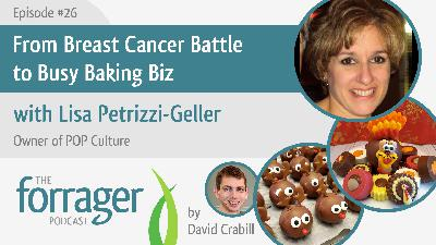 From Breast Cancer Battle to Busy Baking Biz with Lisa Petrizzi-Geller
