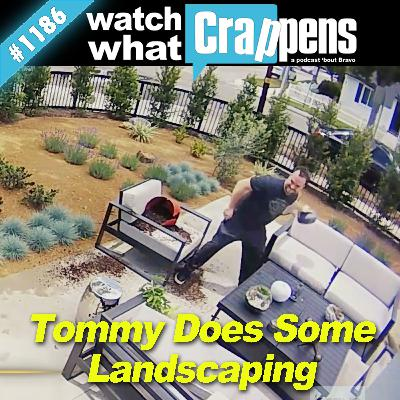 Shahs: Tommy Does Some Landscaping