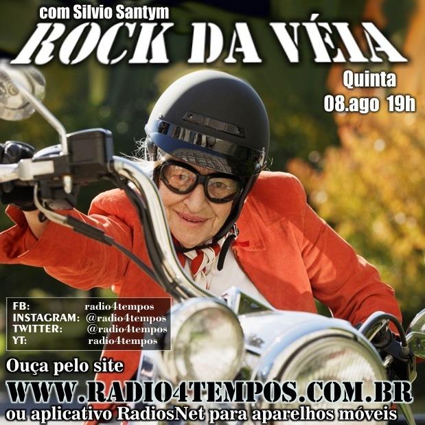 Rádio 4 Tempos - Rock da Véia 65:Rádio 4 Tempos