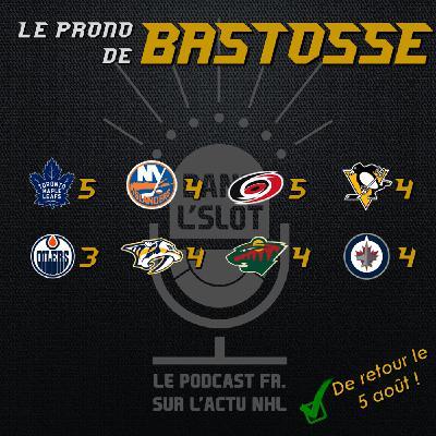 Playoffs NHL 2020 - Les pronos de Bastosse (Tour de qualification)