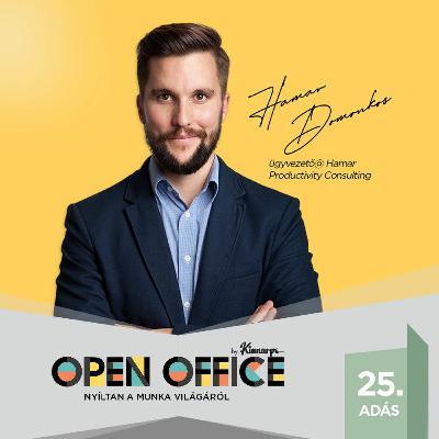 25. Hogyan vegyük vissza a kontrollt az életünk felett   Open Office Podcast