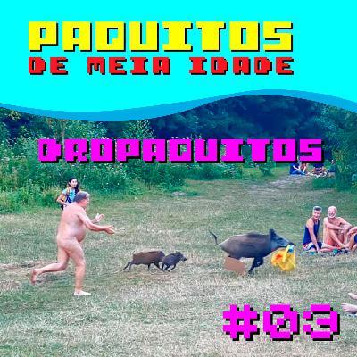 Dropaquitos #03 - Ozônio anal, Macaco bêbado assassino, Pumba ladrão e outras notícias