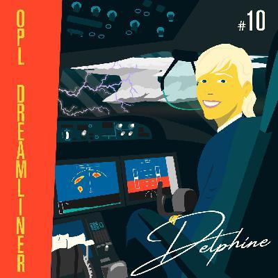 Delphine, OPL Boeing 787 chez Air France