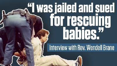 """""""I was sued for saving babies"""" – Guest: Pastor Wendell Brane   The Mark Harrington Show   5-11-21"""