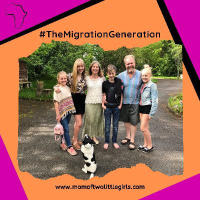 4. Liberty - Life In Ireland as a South African expat family of 6 | The Migration Generation Podcast