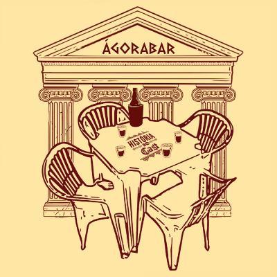 68 # História No Cast - 06 # Ágora Bar - Arroz, Bolsonaro e Redes Sociais