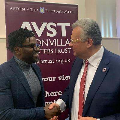 Tony Daley at the Villa Trust 2020 AGM