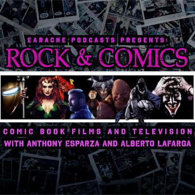 Ep. 79 - THE FINAL EPISODE OF ROCK & COMICS!