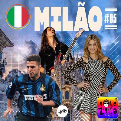 Milão: enquadro, roubo no hotel e quarto dividido com Ronaldo Fenômeno