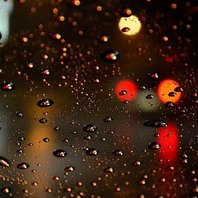 Night Rain on a Car with Soothing Sounds